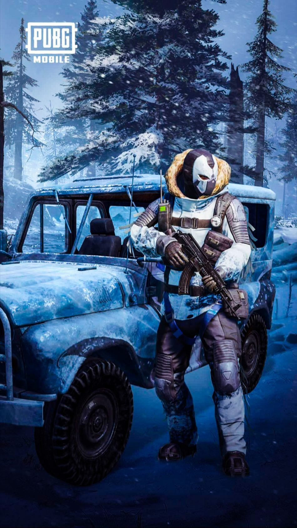 download Download PUBG Mobile Snowman Pure 4K Ultra HD Mobile 950x1689
