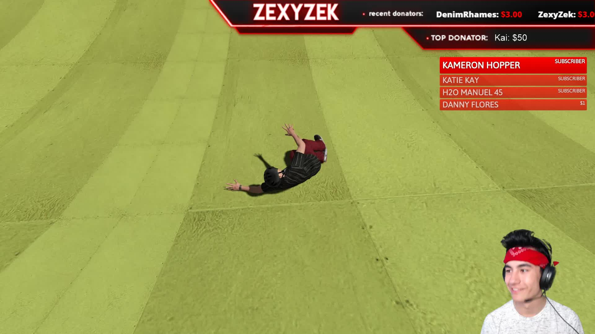 SKATE 3 CHILL Live Challenges with ZexyZek   Twitch 1920x1080