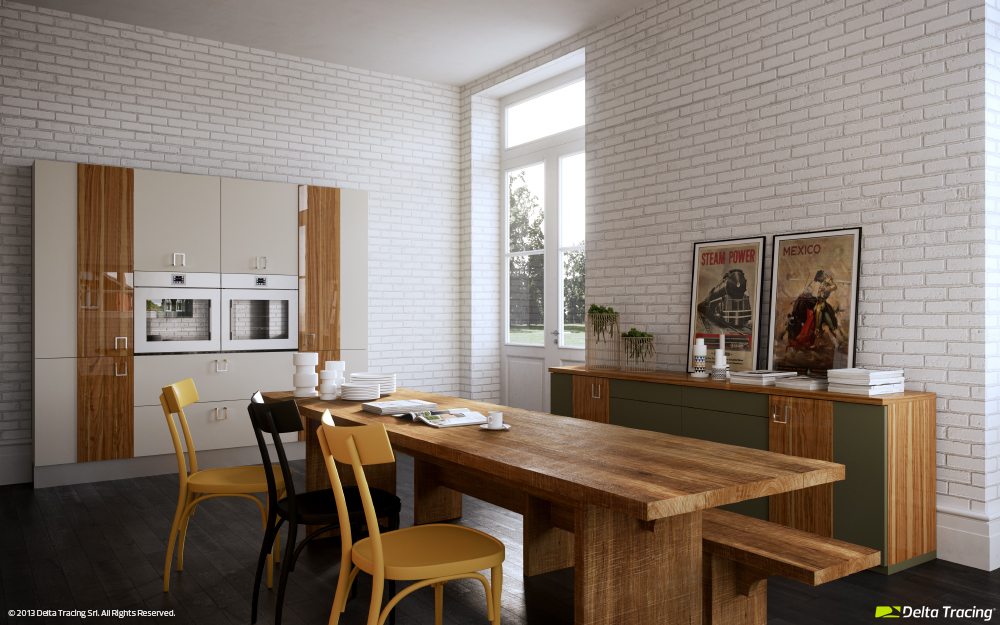 white brick wall kitchen 12714 Wallpaper high quality Backgrounds 1000x625
