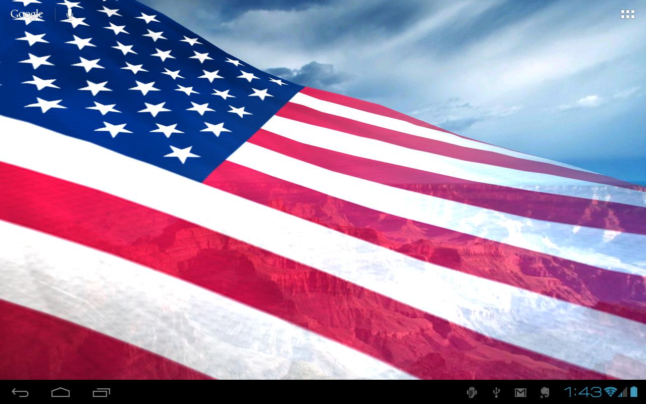 50 American Flag Live Wallpaper On Wallpapersafari