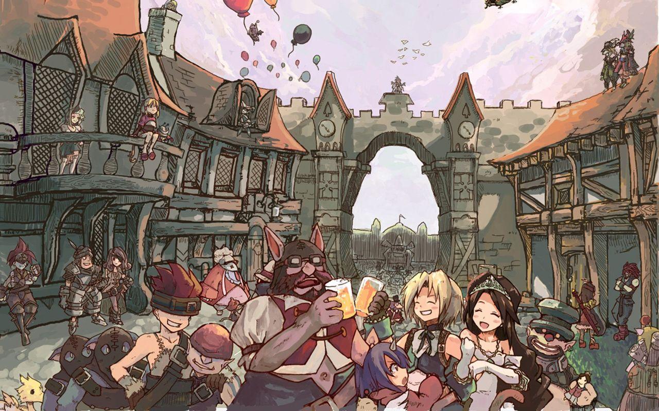 48 Final Fantasy Ix Wallpaper On Wallpapersafari