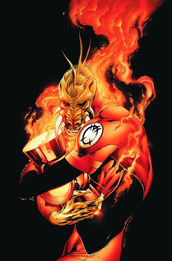 Most viewed Orange Lantern Corps wallpapers 4K Wallpapers 602x915