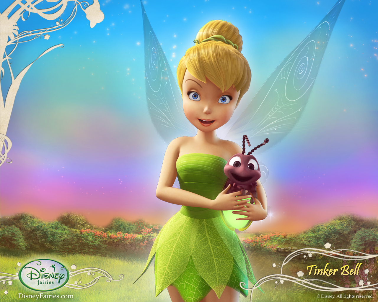 Wallpapers Tinker Bell Fairies Forever 1280x1024