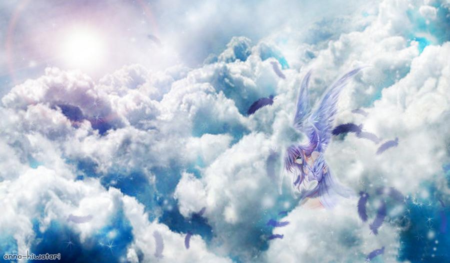 Sad Anime Angel wallpaper by AnnaHiwatari 900x527