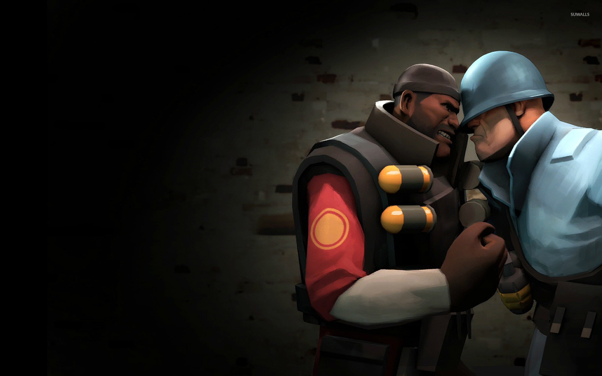 TF2 Demoman vs Soldier wallpaper   Game wallpapers   15105 1920x1200