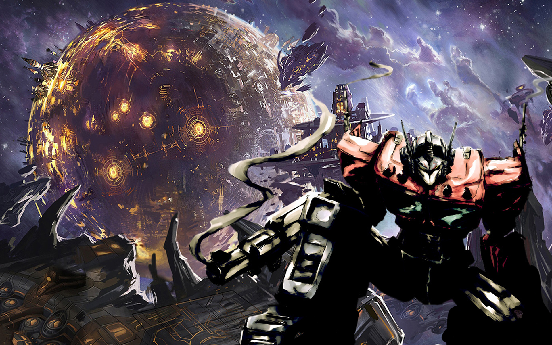 Fall of Cybertron Wallpaper images 1920x1200