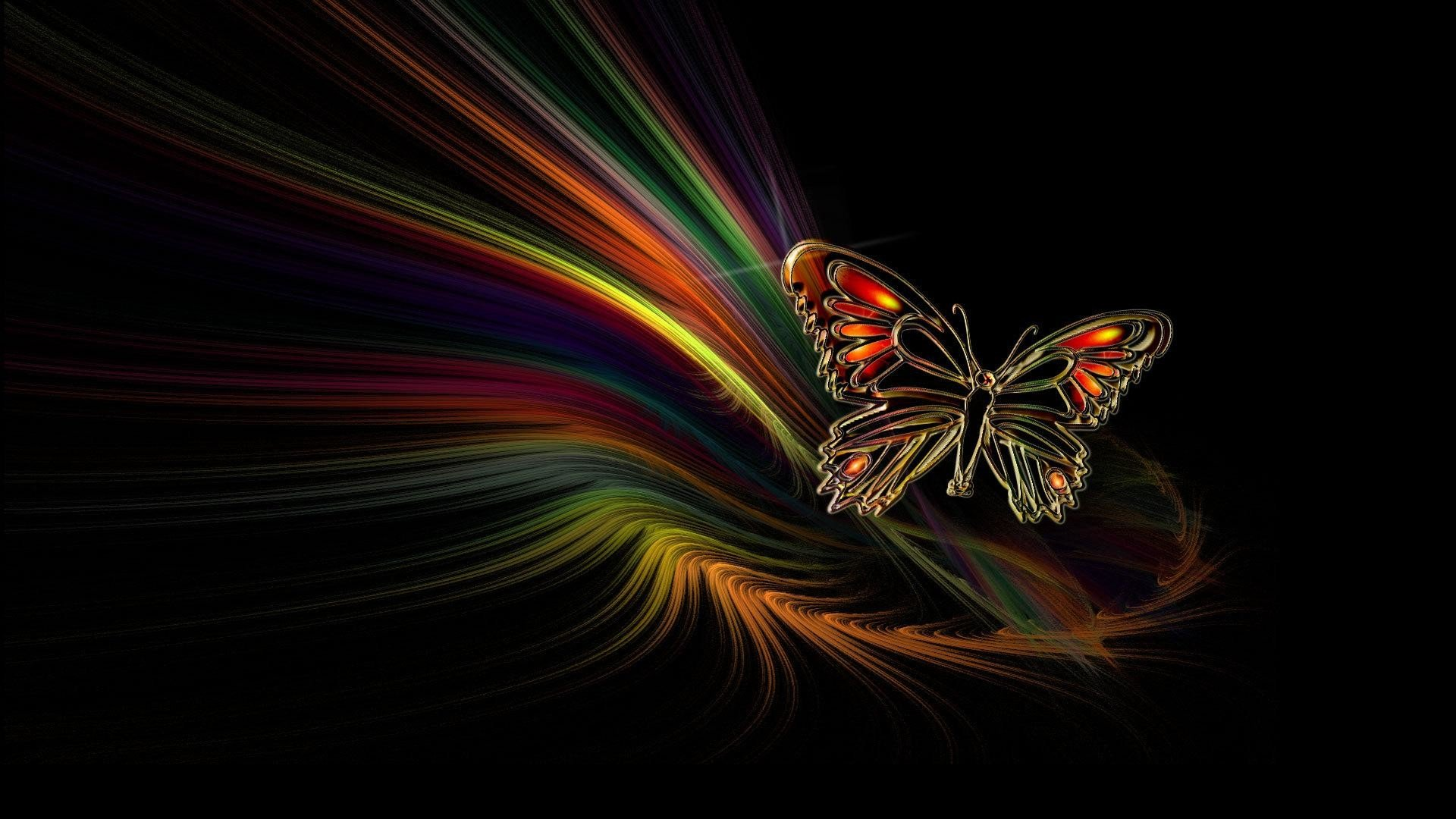 Moving Butterfly Wallpaper