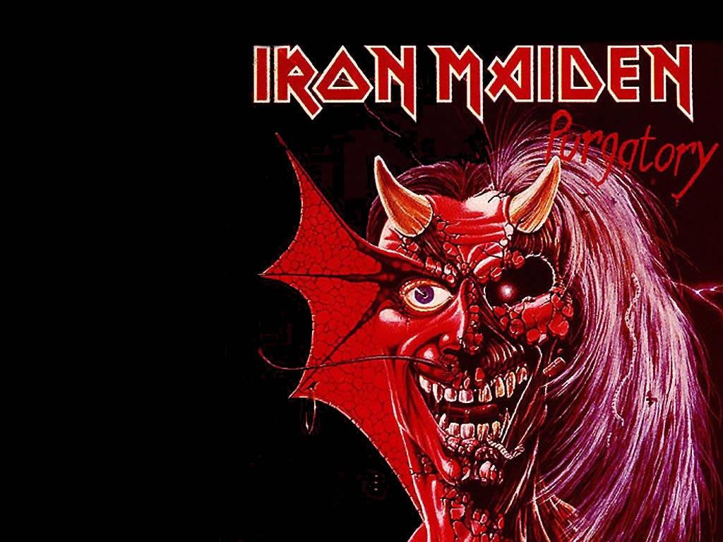 iron maiden logo wallpaper displaying 14 images for iron maiden logo 1024x768