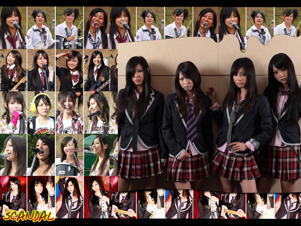 scandal band wallpaper scandal awanaitsumorino genki dene cd dvd 1024x768