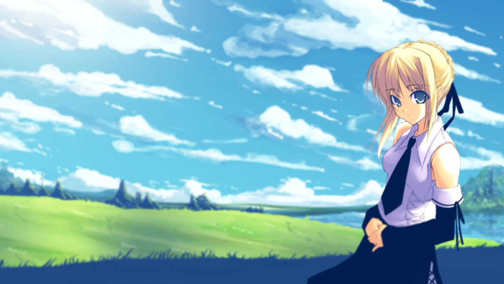 Saber Casual Fate Zero Wallpaper [1080p] by HowsMyClutch on 1024x576