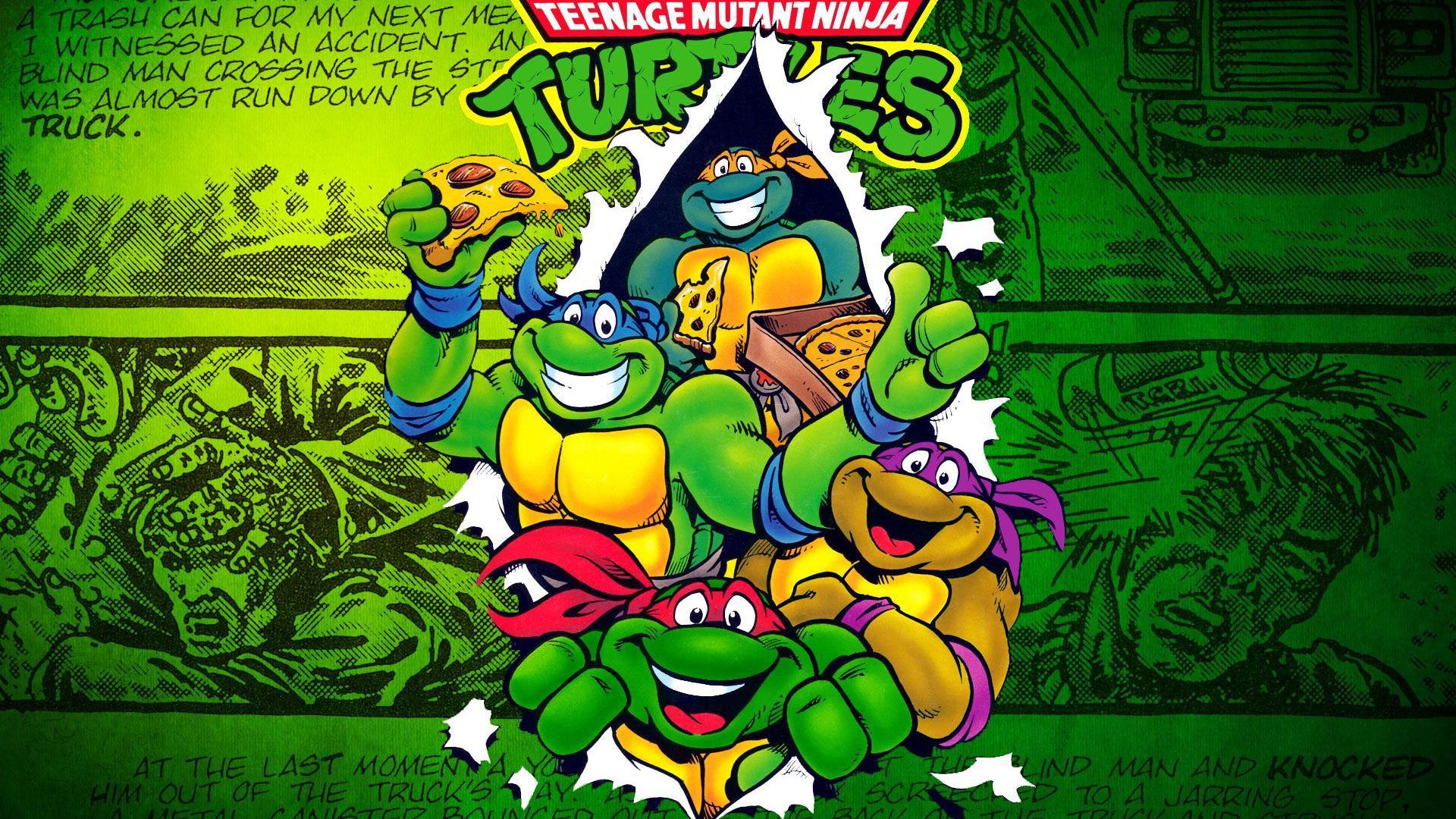 Teenage mutant ninja turtles comic wallpaper - photo#3
