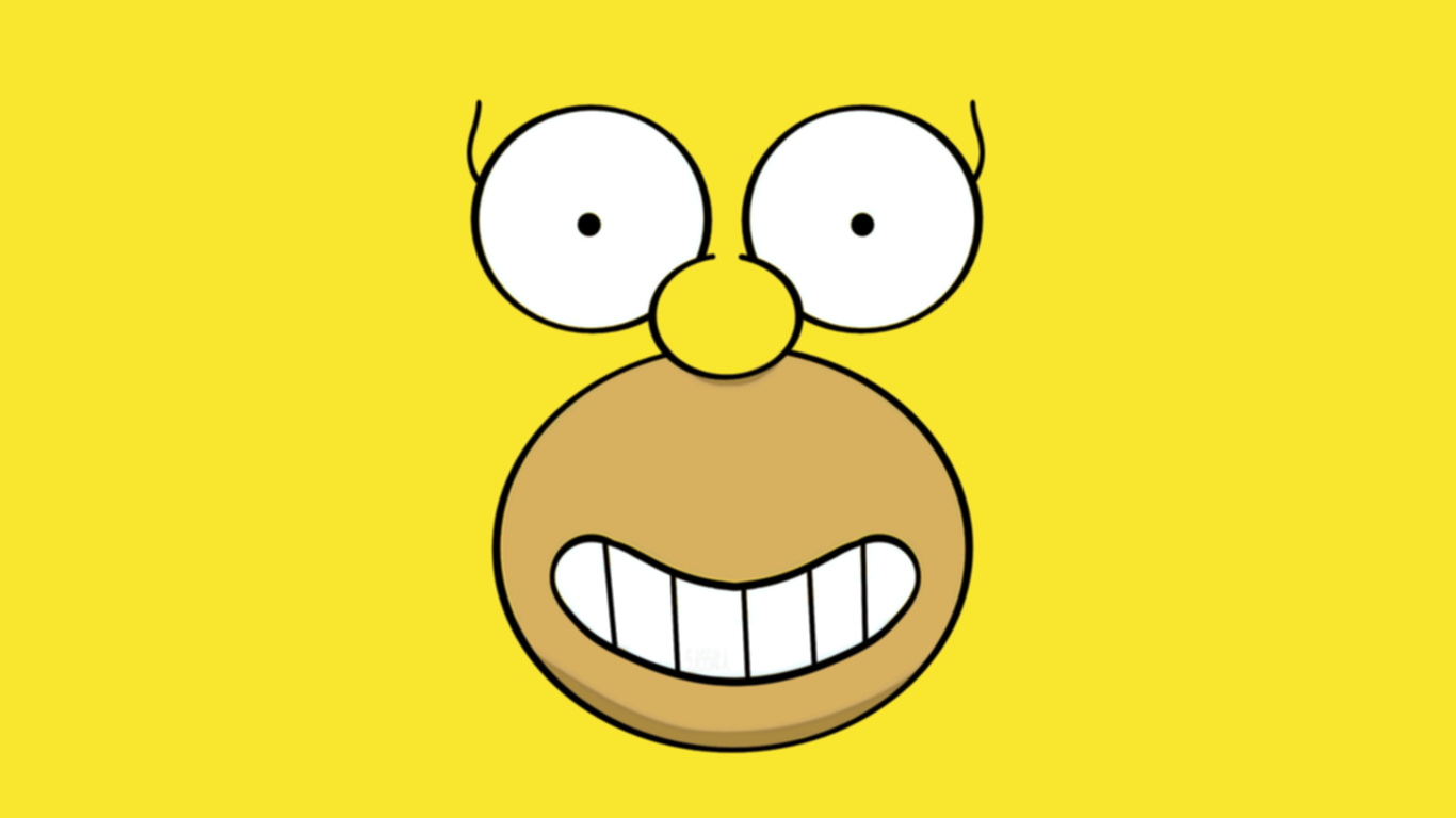 Homer Simpson Hd Wallpaper by geehan9 1366x768