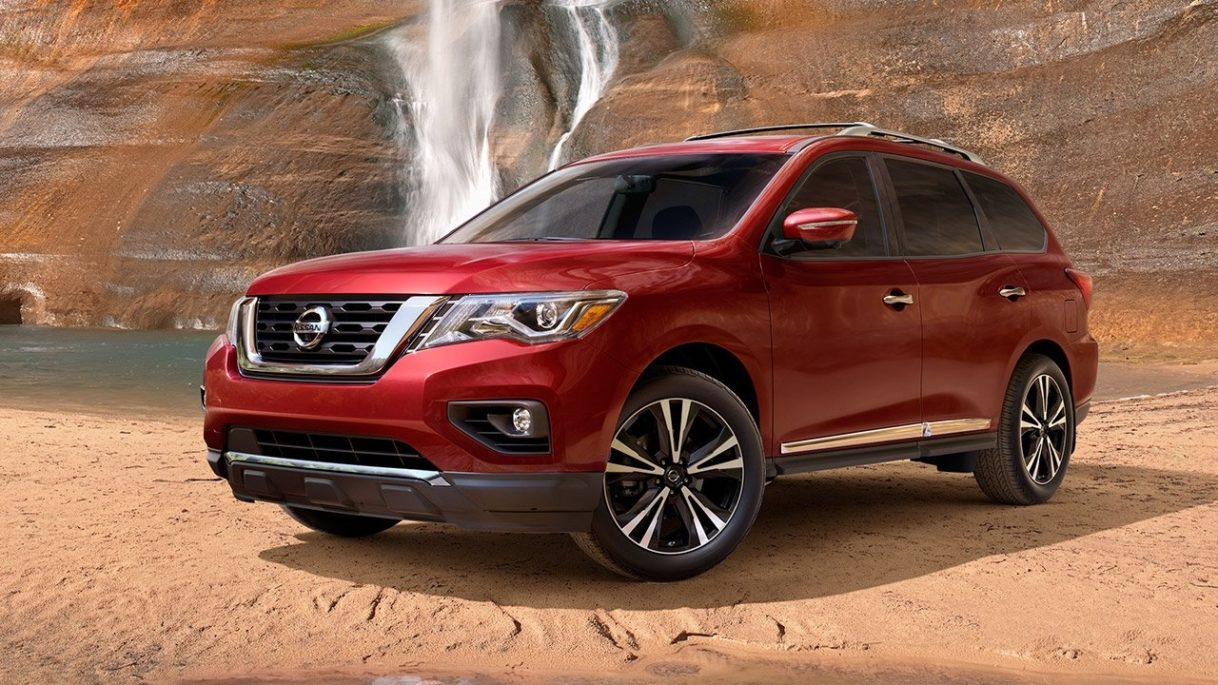 2018 Nissan Pathfinder New Design Wallpapers Car Preview Rumors 1218x685