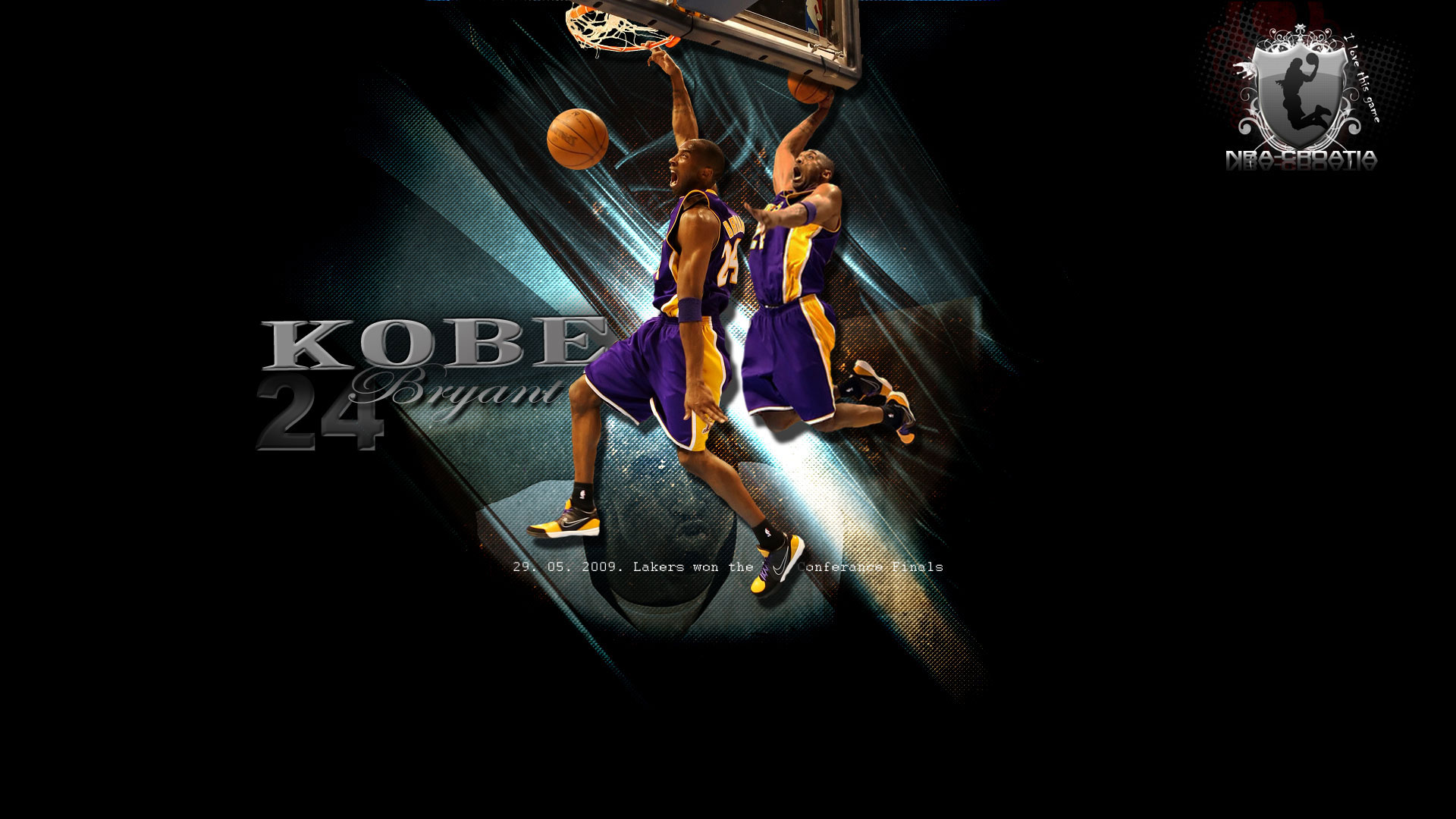 Lakers Kobe Bryant Wallpaper HD 1920x1080