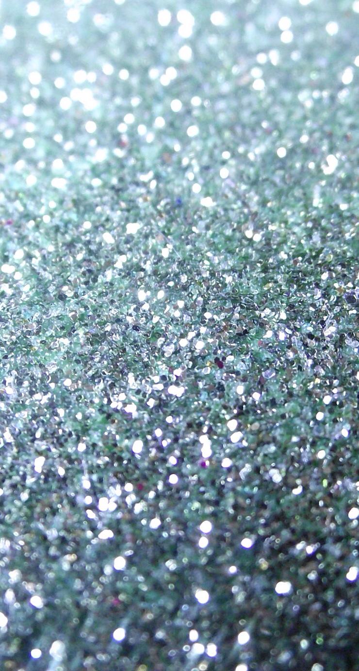Glitter Glow Liquid Eye Shadow: Blue Glitter Wallpaper
