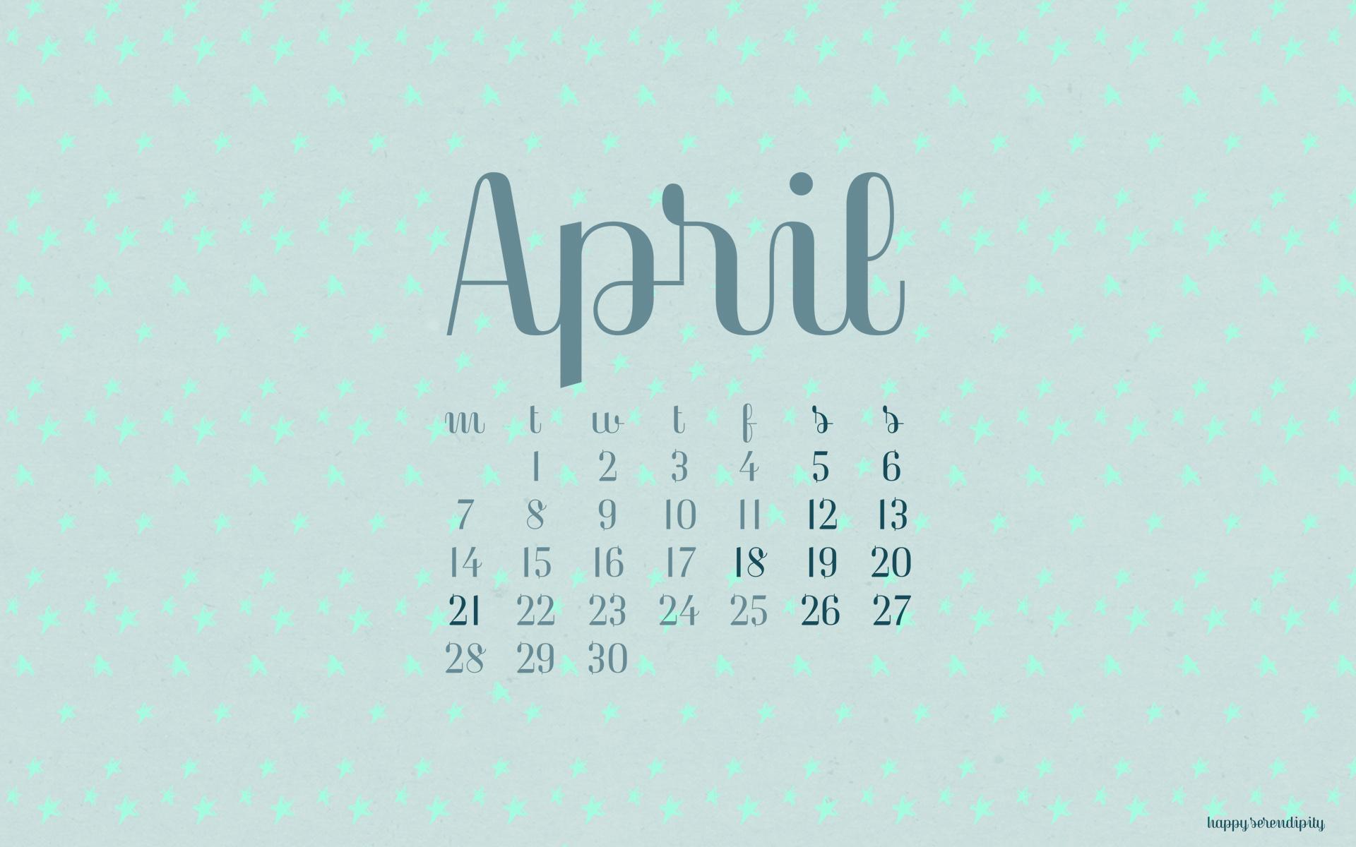 Calendar Desktop Wallpaper 2014 1920x1200