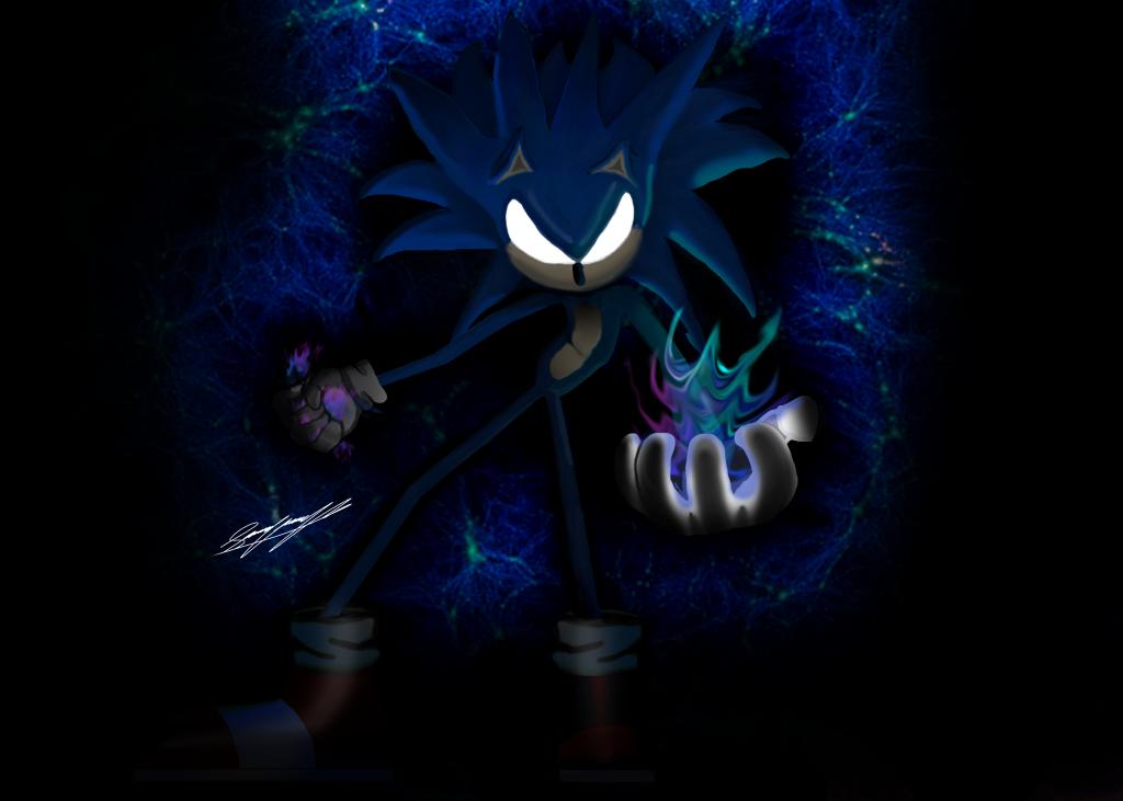 Dark Super Sonic The Hedgehog Download