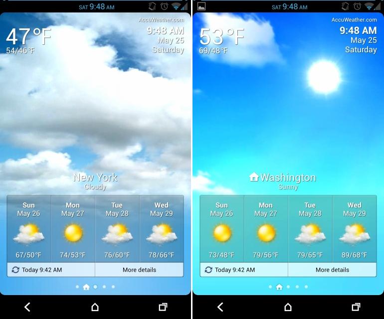 Weather App Lapplicazione Meteo Con Animazioni Supporto A Pi 770x640