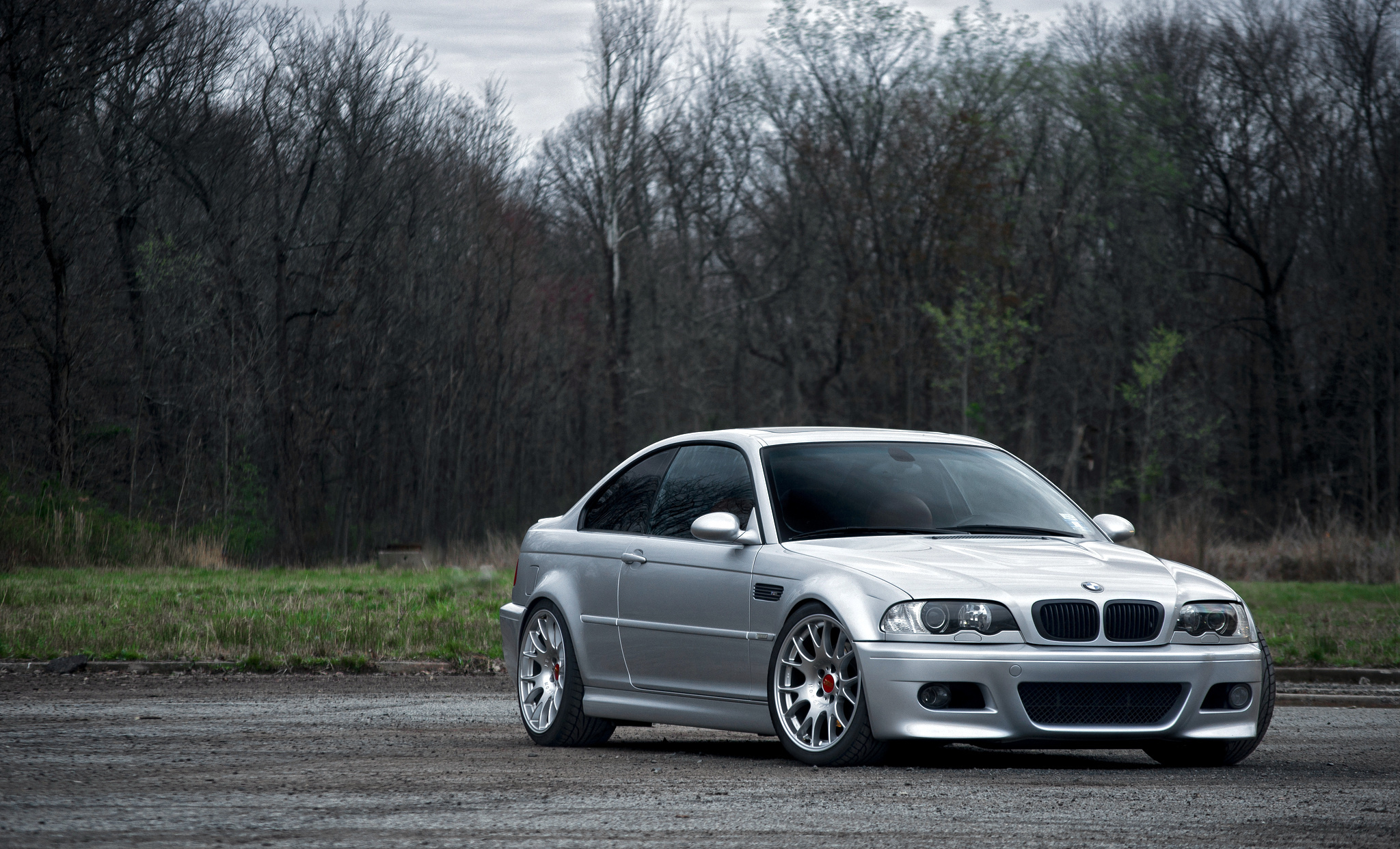 Bmw E46 M3 Silver 2325798   HD Wallpaper Backgrounds Download 2048x1242