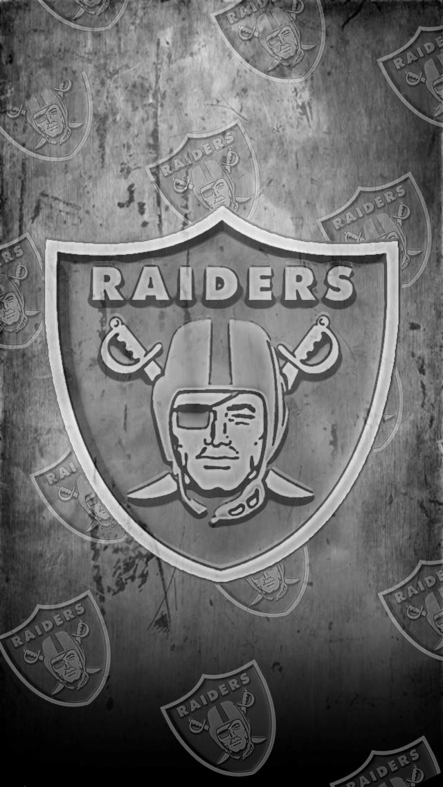 Raiders Iphone 5 Wallpaper My iphone 5 wallpaper hd sports raiders2 640x1136