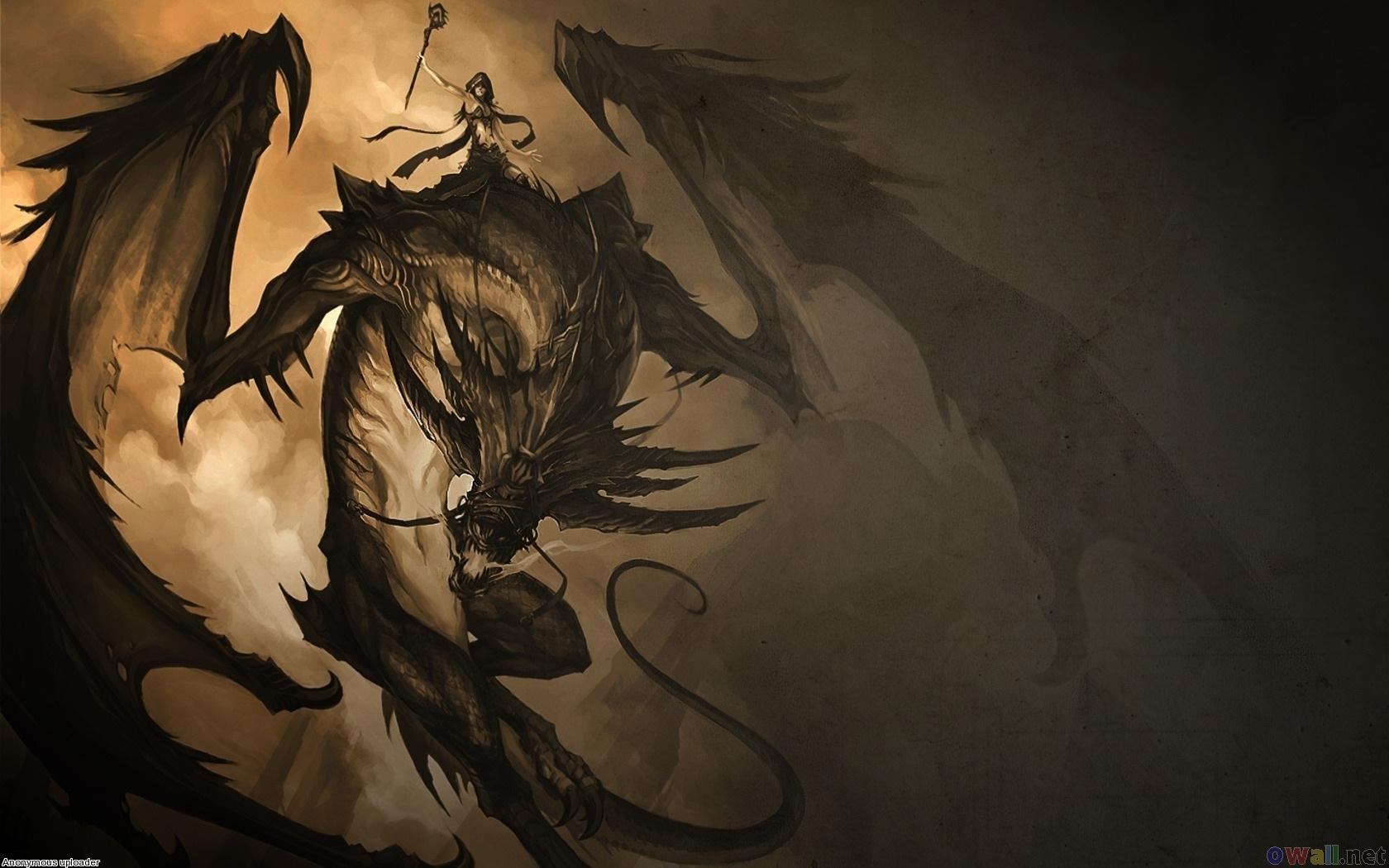 Hd wallpaper sunset beach - Black Dragon Wallpaper Desktop Wallpapersafari