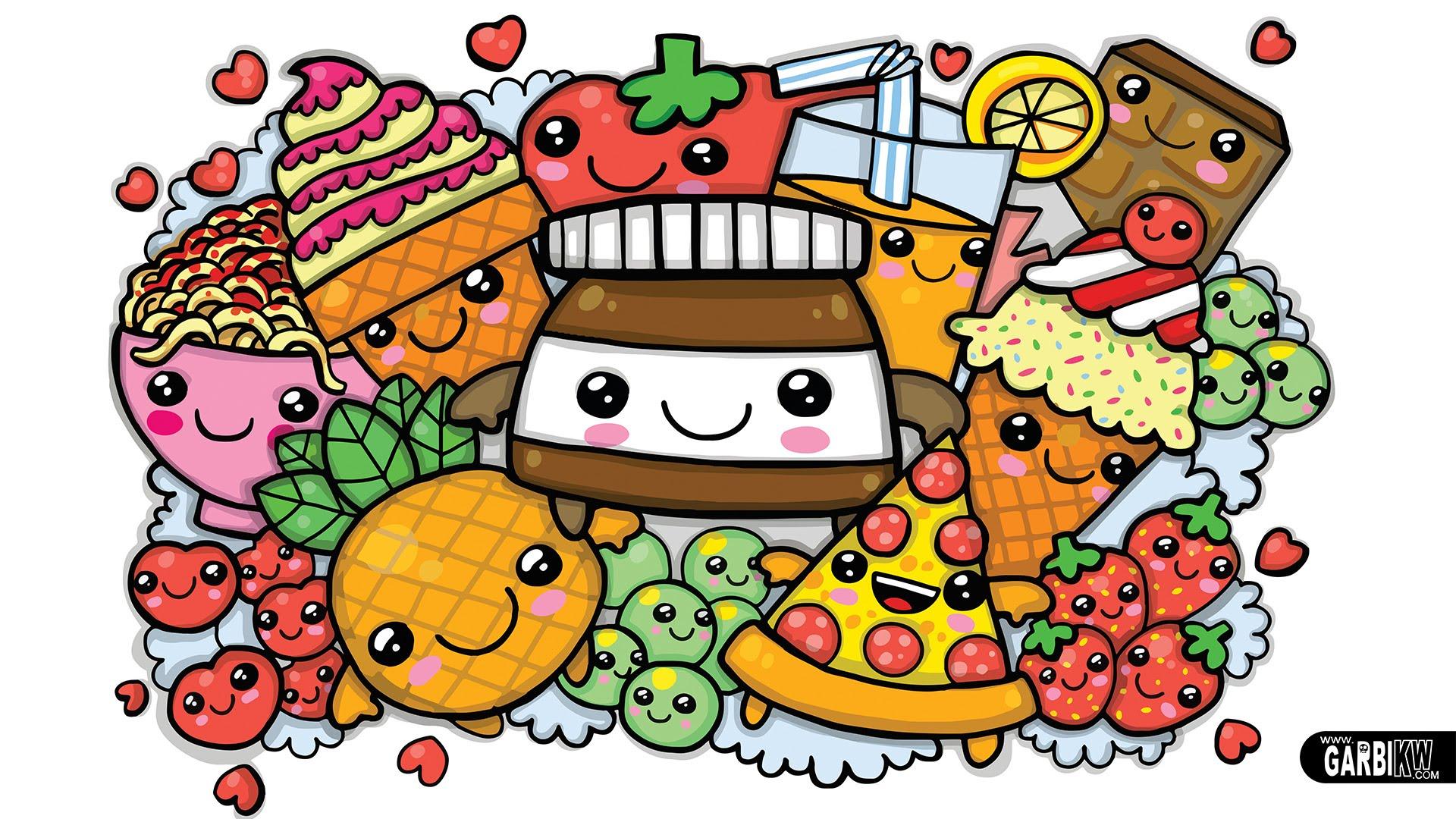 wallpaper food kawaii - photo #18