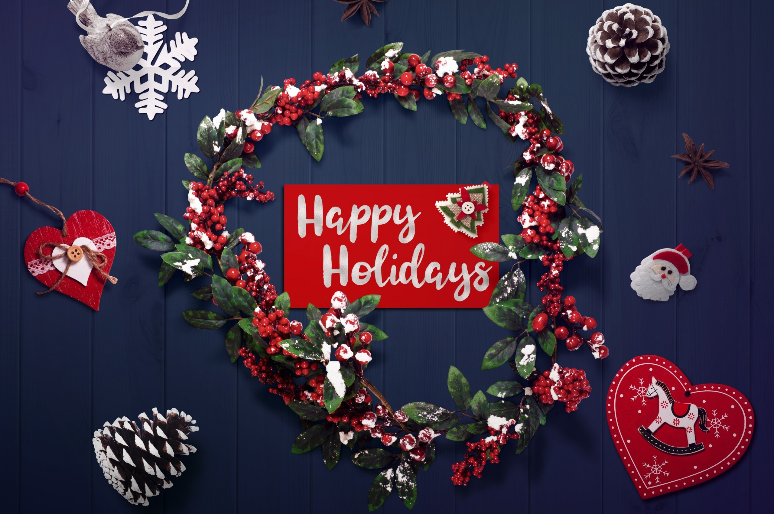 Download 2560x1700 Merry Christmas 2020 Decorations Happy 2560x1700