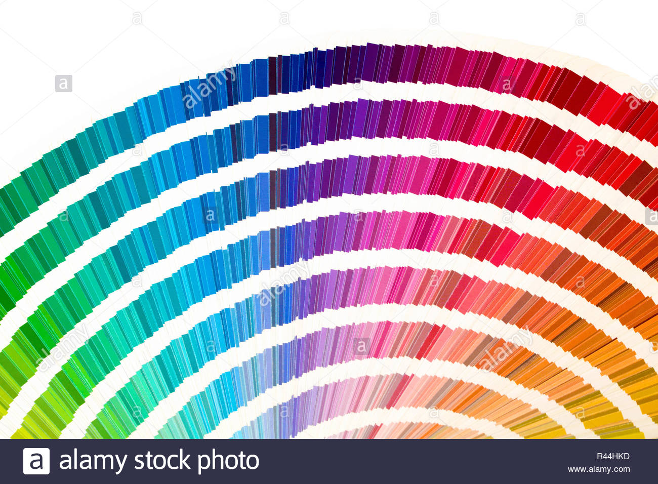 Rainbow sample colors catalogue in many shades of colors or 1300x956