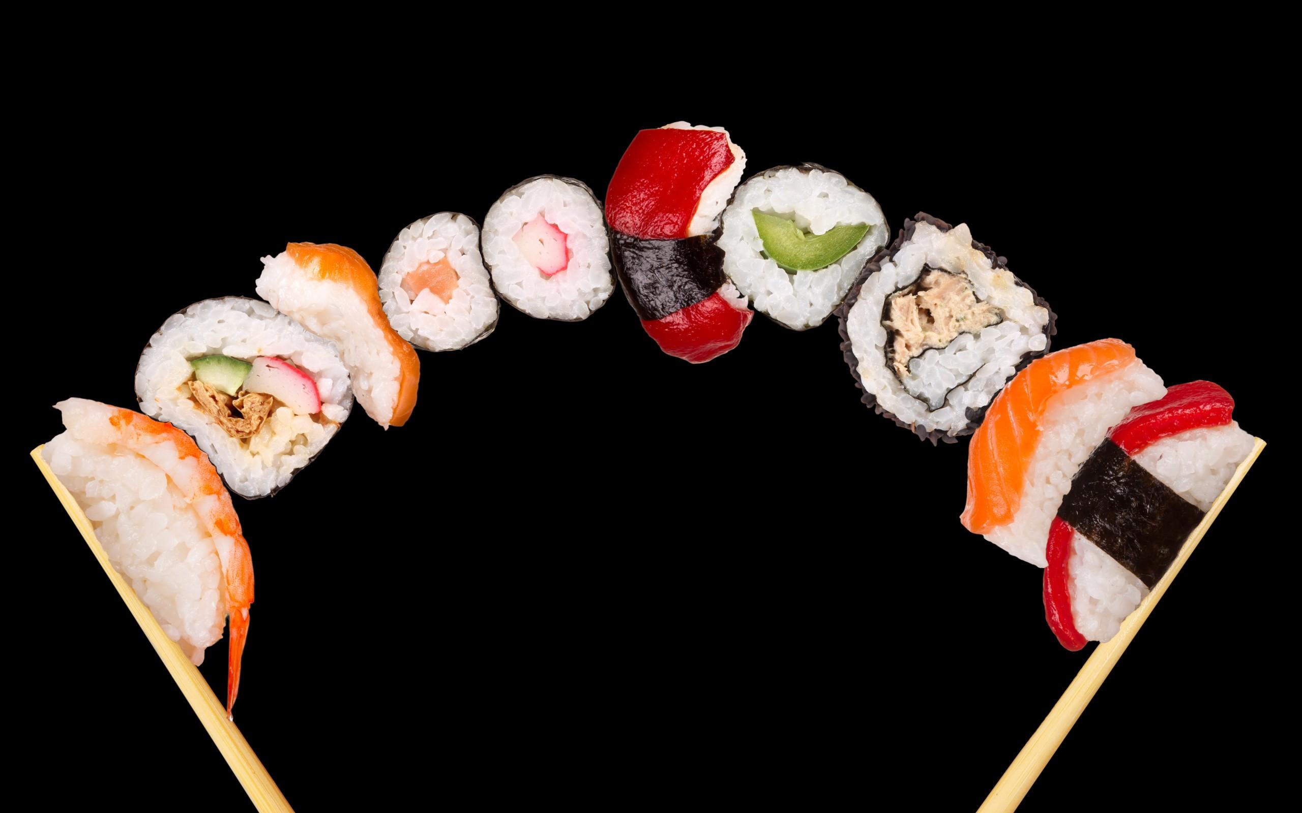 Cool Sushi Wallpaper 6782825 2560x1600