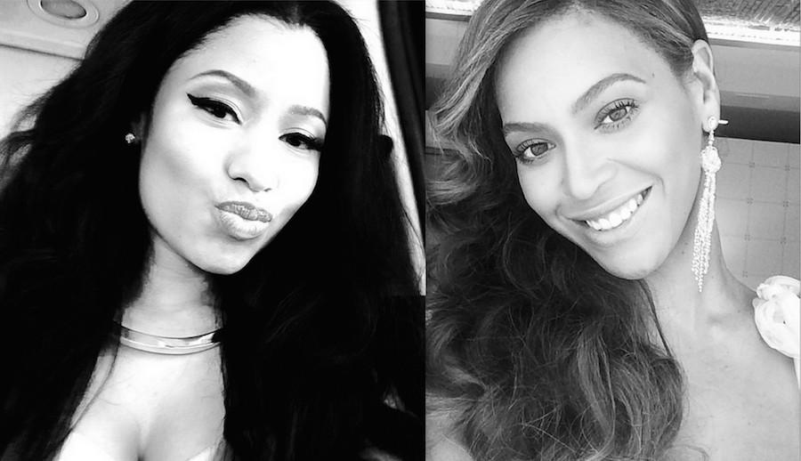 Wallpapers Nicki Minaj Vs Beyonce 2014
