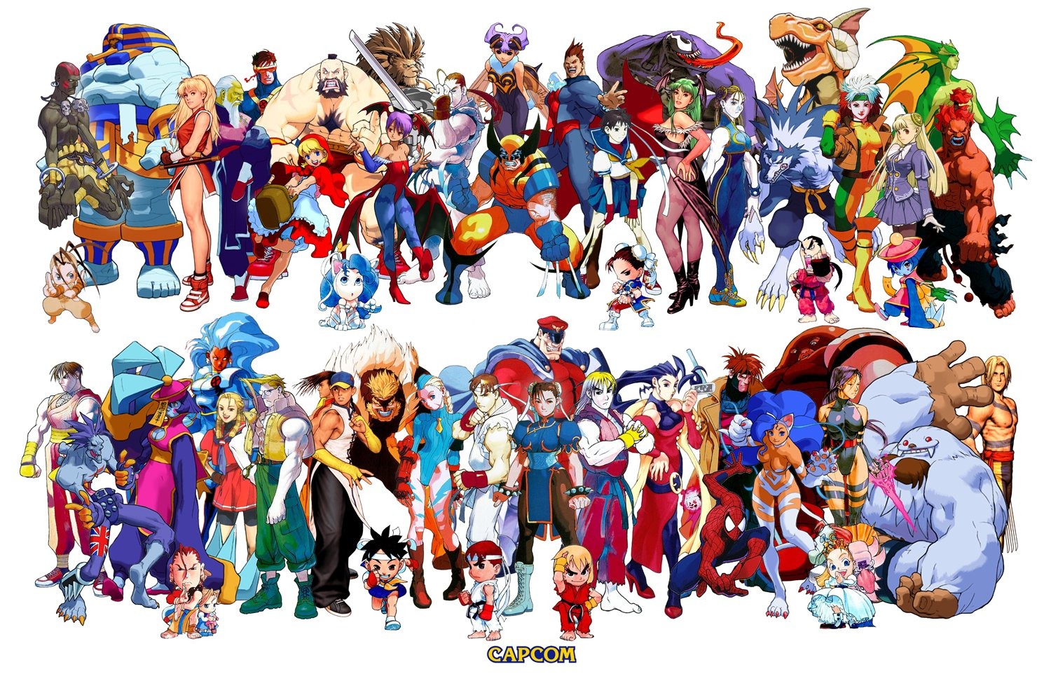 Free Download Marvel Vs Capcom Gt Thread Gt Any Mvc2 Wallpapers