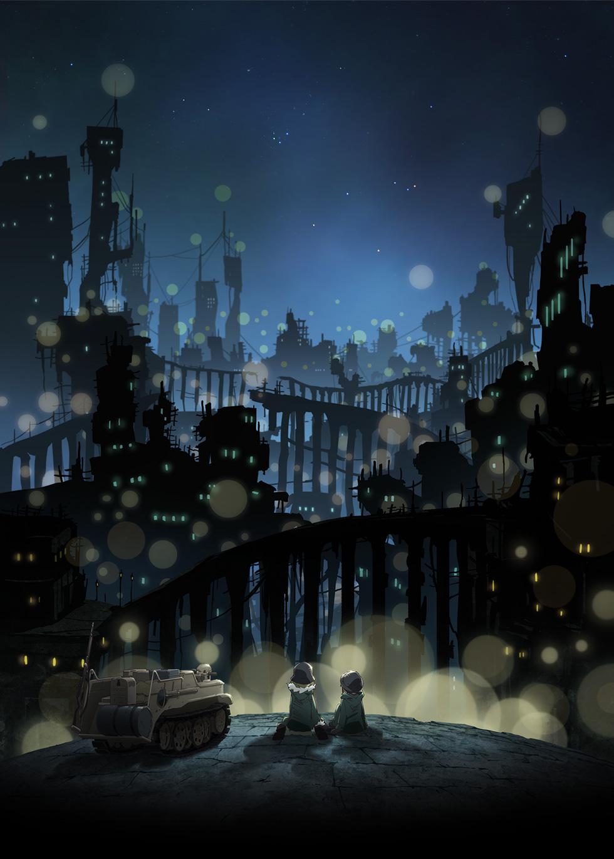 Shoujo Shuumatsu Ryokou Girls Last Tour   Zerochan Anime Image 980x1370