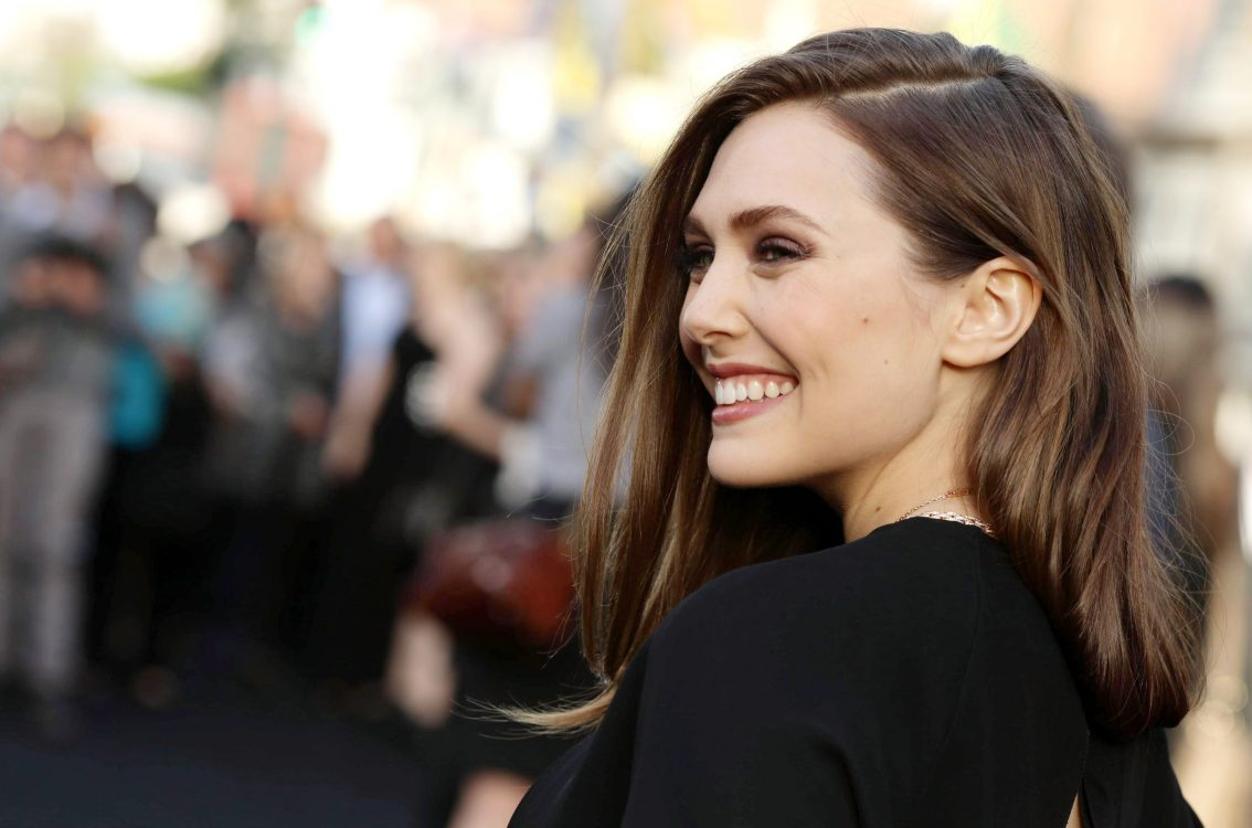 Happy Elizabeth Olsen HD 4K Wallpaper 4K Wallpaper 1134x750