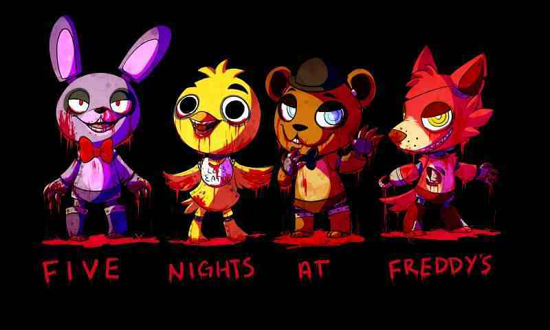 cute fnaf wallpapers for desktop wallpapersafari