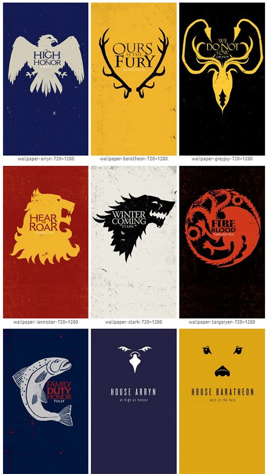 Game of Thrones Windows Phone Wallpapers 530x935