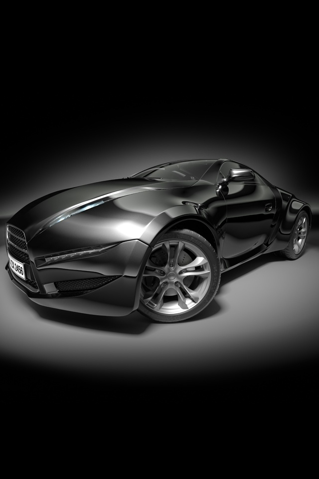 Concept Sports Car iPhone 4 Wallpaper and iPhone 4S Wallpaper 640x960