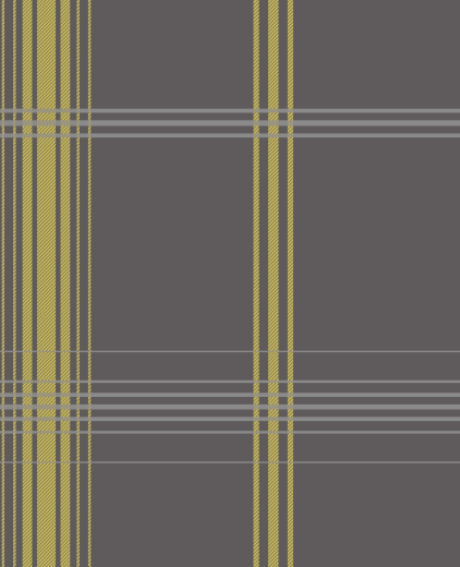 tartan styled check Appeals to both period and modern livingThe 422x520