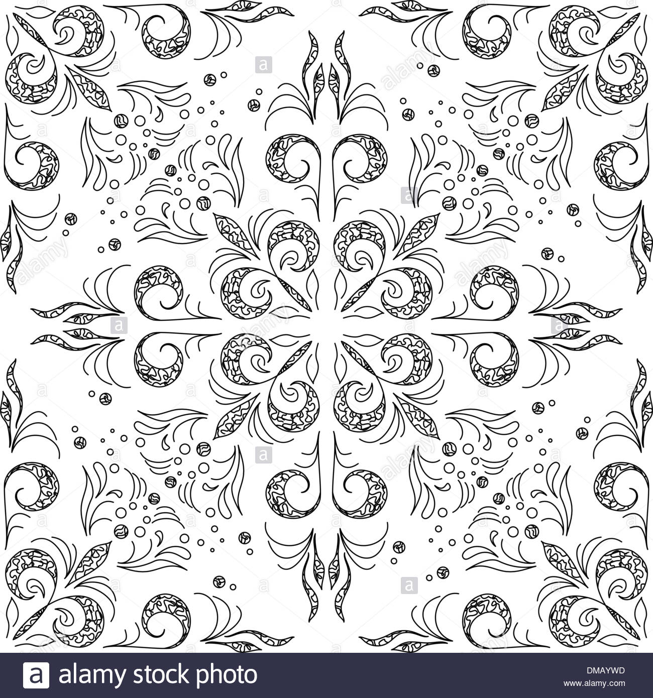 Abstract background outline Stock Vector Art Illustration 1300x1390