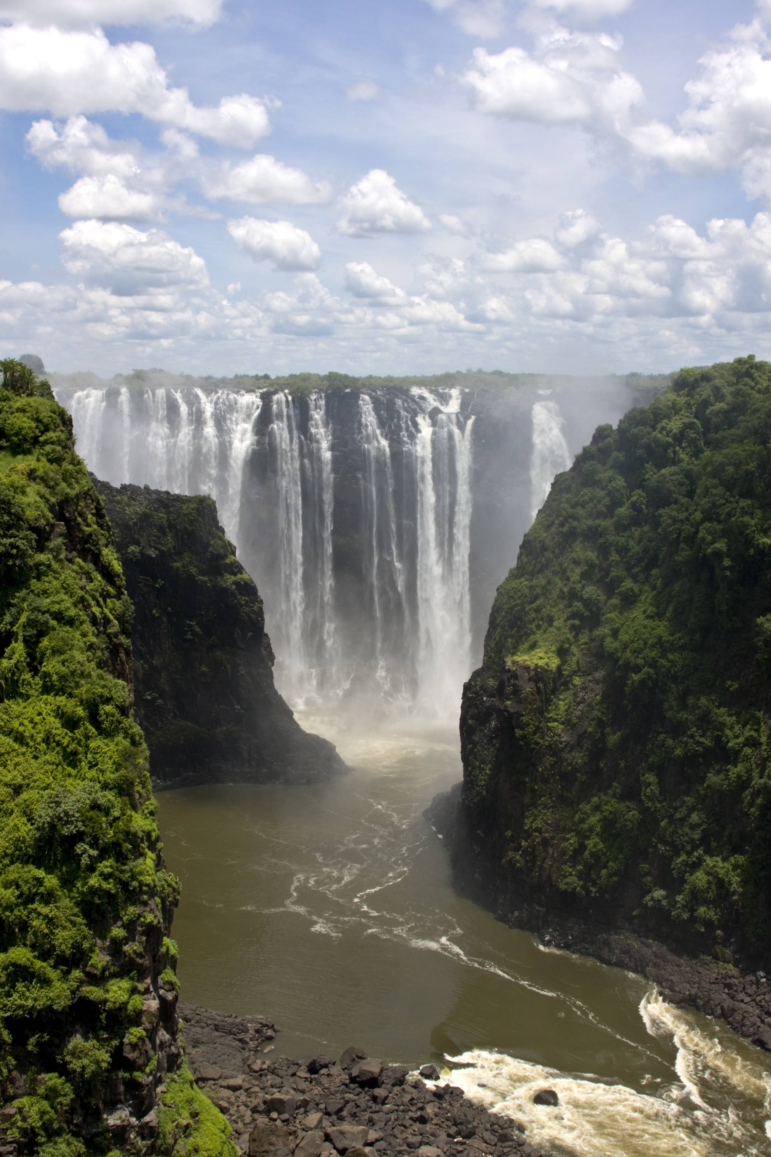 Victoria Falls Wallpaper - WallpaperSafari