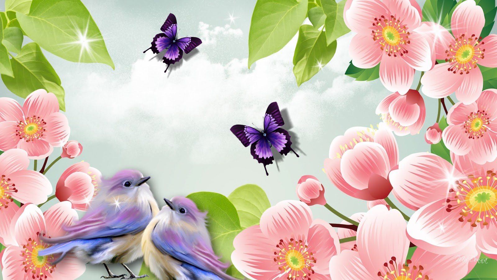 Happy Spring Day Wallpapers Gallery 1600x900