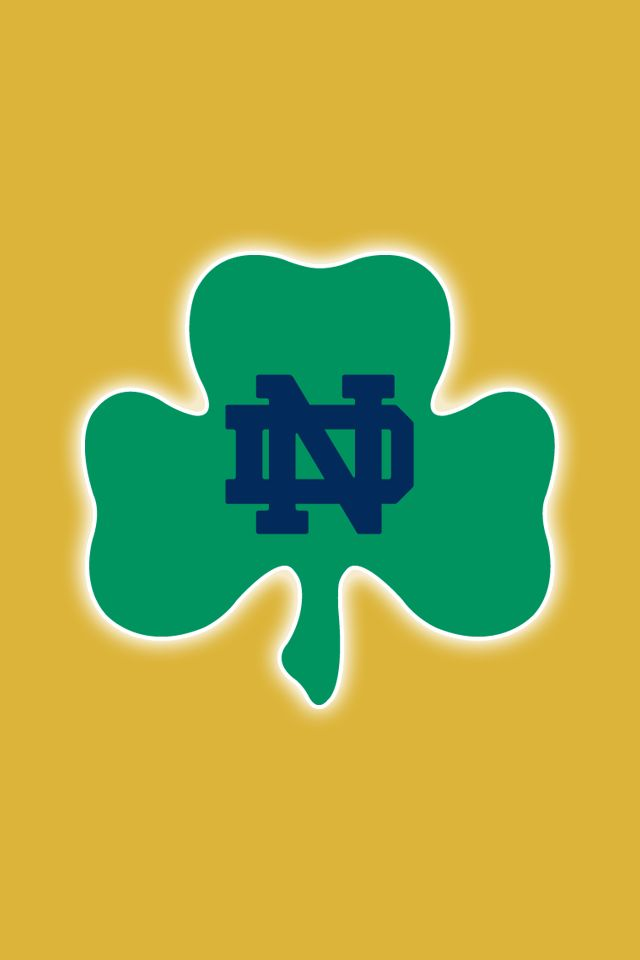 Notre Dame Fighting Irish iPhone Wallpapers Install in seconds 640x960
