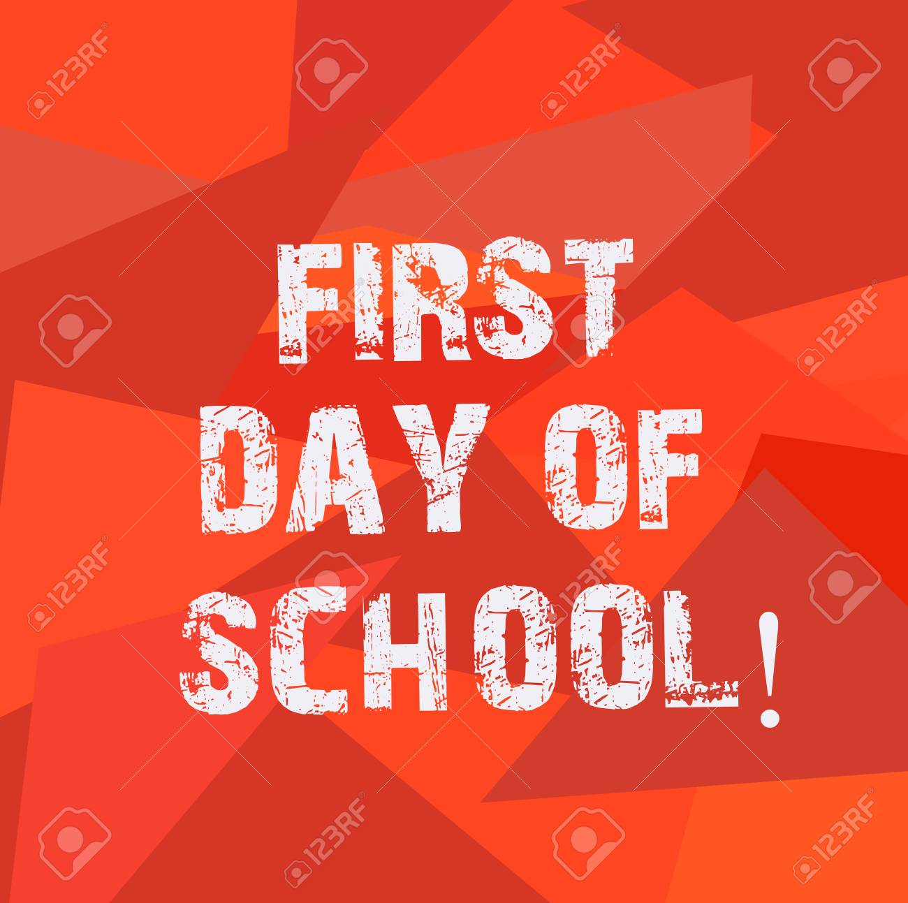 Text Sign Showing First Day Of School Conceptual Photo Return 1300x1293