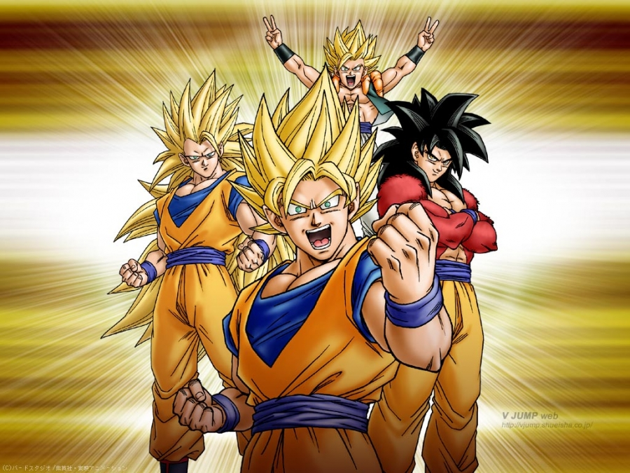 Son Goku Wallpaper 900x675 Son Goku Dragonball Z Dragonball GT 900x675