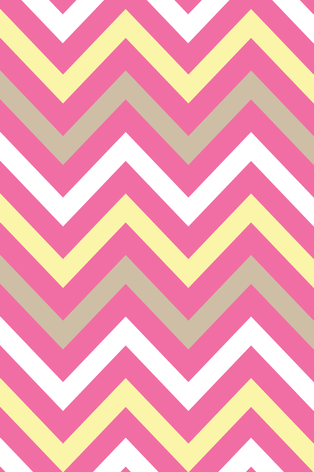 Pink And Grey Chevron Background Iphone-pink yellow sand