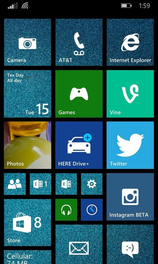 beautiful Start backgrounds for Windows Phone 81 Windows Central 600x1000