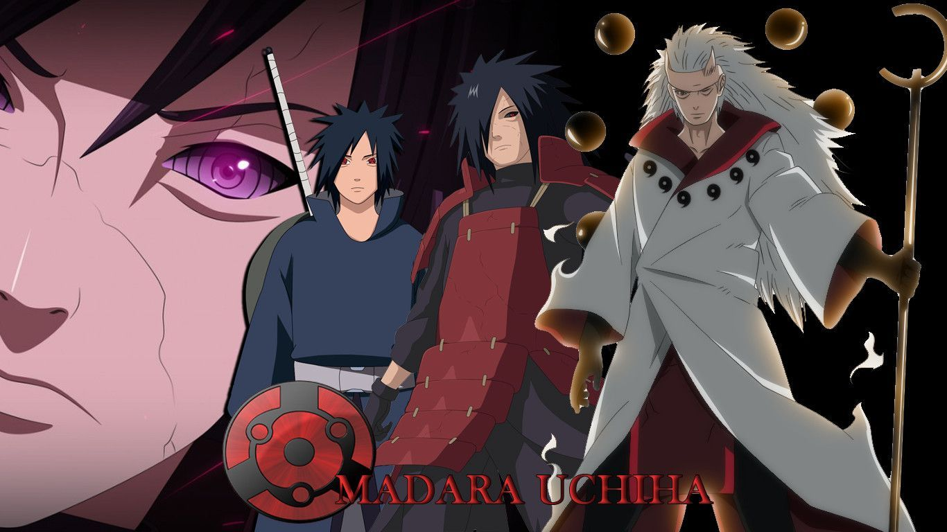Madara Uchiha Wallpapers 1366x768