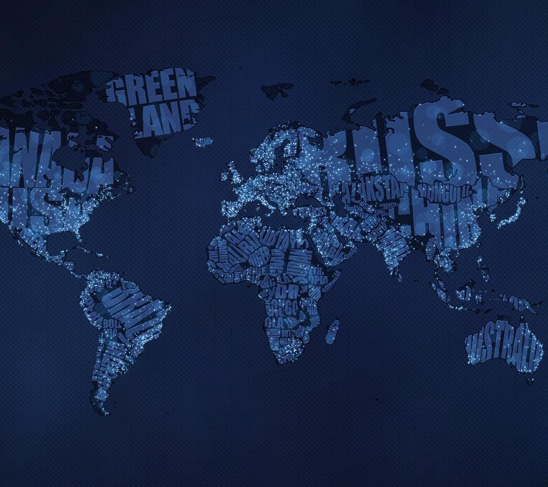 World Map Screensaver Wallpaper - WallpaperSafari