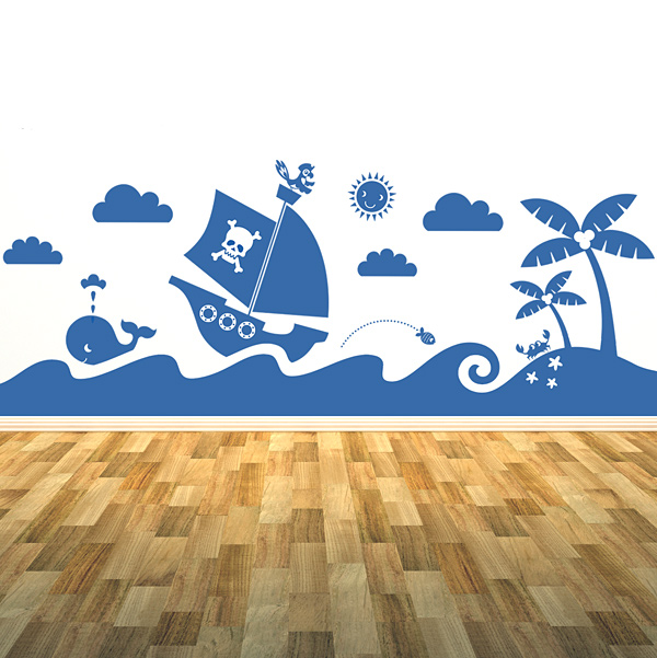 have just uploaded some new forest and sea scene wall mural stickers 600x601