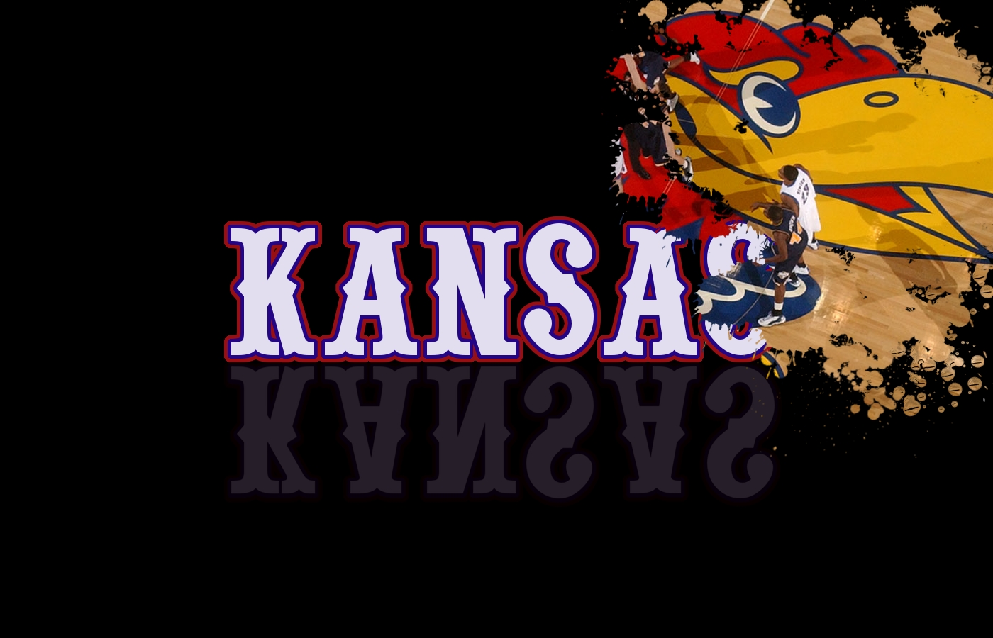 KANSAS SPLATTER by David Fleming   Desktop Wallpaper 1400x900