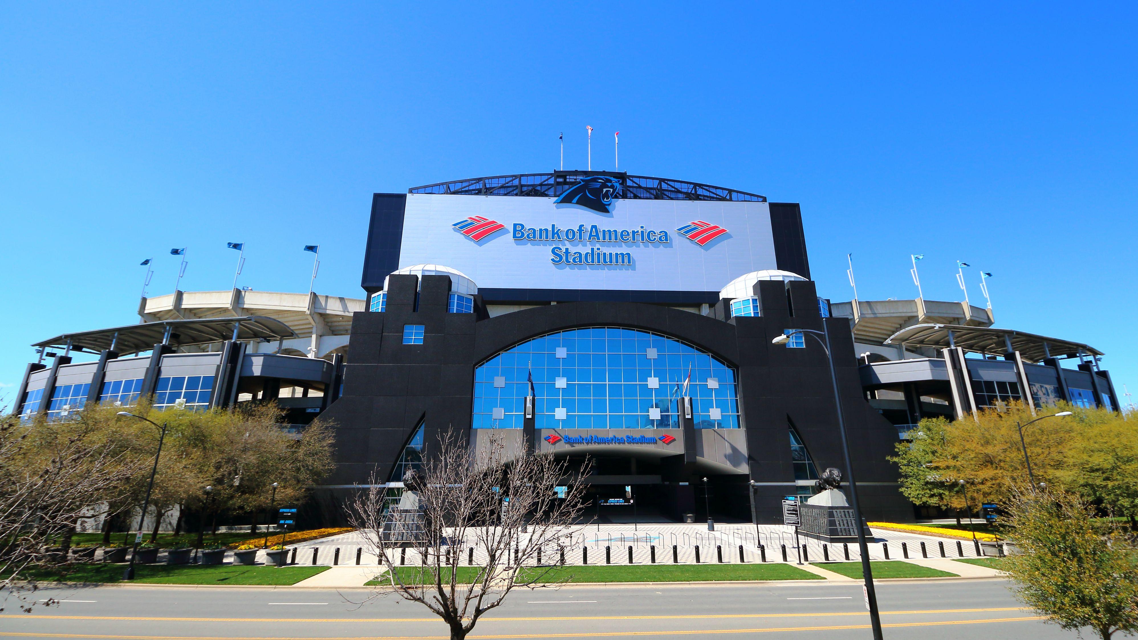Bank of America Stadium [wallpaper] panthers 3992x2245